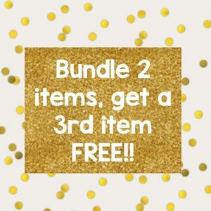 Other - Bundle 3 items, ONLY PAY FOR 2